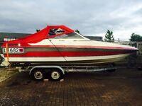 Wellcraft cuddy speed boat. 21ft. Must go by next week.