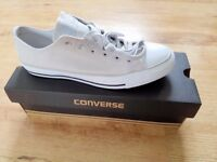 New Converse Canvas Trainers Size 8