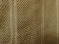 Brand New Laura Ashley Linen Stripe Natural Curtains - 2 Sets
