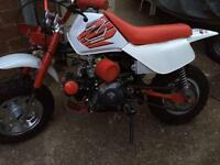 Honda z50 r Rep monkey bike 50cc 4stroke geared pit bike engine