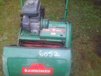 Ransomes lawnmower