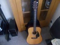 Fender acoustic gemini guitar