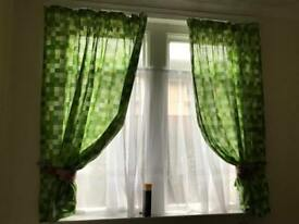 Minecraft curtains and bedding