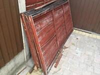 FREE FIREWOOD (Old fence panels)
