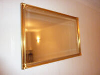 Antique-style Gilt Wall Mirror