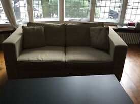 Artist's Shabby Chic Double Sofa Bed