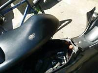 Black honda pcx 125cc