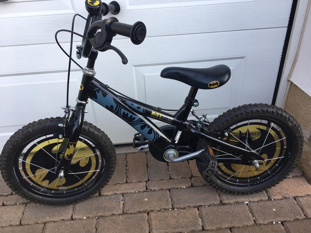 "Boys bike (Halfords Batman 16"")"