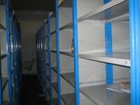 joblot 10 bays DEXION impex industrial shelving 2.4 meters high ( pallet racking , storage)