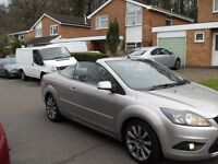 GET READY FOR SUMMER FORD FOCUS CONVERTIBLE 2.0 TDCI 140 6 SPEED DIESEL LOW MILES 2 OWNER