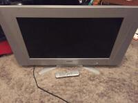 26 inch tv very good condition and 1 HDMI comes with the remote