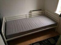 Ikea Tromso Day Bed + Single Mattress