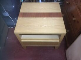 Cabinet and table