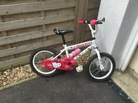 Hello Kitty Girls Bike - Used but good condition