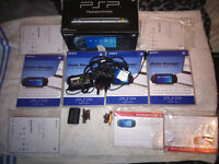 Joblot sony playsation portable psp items - charger/cameras/media manager etc
