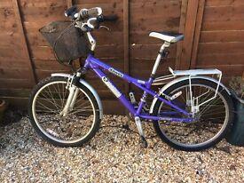 Used ladies Dawes Bandit cruiser bike
