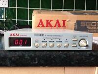 RARE AKAI SG01v VINTAGE SOUND MODULE - CLASSIC ANALOG SOUNDS - COMES WITH ORIGINAL BOX AND MANUAL