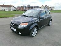 2010 PROTON SAVVY STYLE BLACK 56112 miles, drives A 1 very smart car all round , NEW MOT JULY 2018