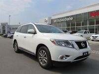 2013 Nissan Pathfinder SL 4X4 LEATHER,PANORAMIC SUNROOF,7 PASS,H