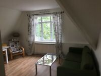 Stunning one bedroom flat to rent with shared garden and off street parking