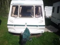 For Sale! Abbey freestyle 2 berth Caravan with motor mover. in excellent condition!