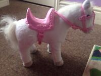 Baby Born Interactive Horse - White
