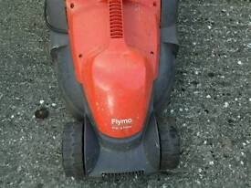 Flymo lawn mower plus trident hedge trimer