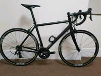 56cm Road Bike / Ali Frame & Carbon Fork