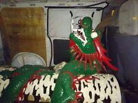 Chinese Dragon Decoration For Pillar