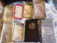 Job lot of 8 Various iphone Cases
