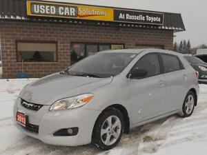 2013 Toyota Matrix Touring Automatic