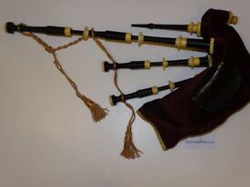 Henderson Bagpipes: Full Mounted