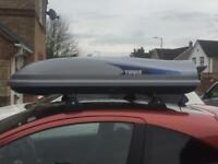 Thule Evolution 100 roof box for hire. Only £35