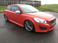 VOLVO C30 2.0 D R-DESIGN 3d 136 BHP GLEAMING SIGNAL RED, HOT (red) 2010