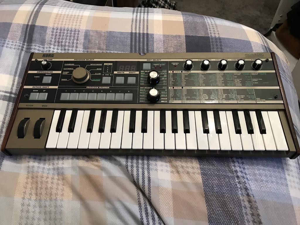 Korg Microkorg Synthesizer Great Condition | in Glasgow City Centre,  Glasgow | Gumtree