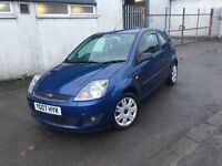 Ford Fiesta 2007 1.25 petrol with new mot