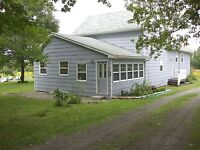 INCOME from 3 cottages plus 4BR 3BA home on 50 Fundy Bay acres