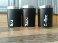 Coffee Tea Sugar Pots