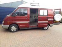 Renault Trafic Hitop Van Camper, Carpeted, Electrics, Unusual Number Plate