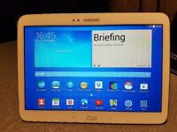 "Samsung Galaxy Tab 3 10.1"" Wi-Fi Tablet Android in White"