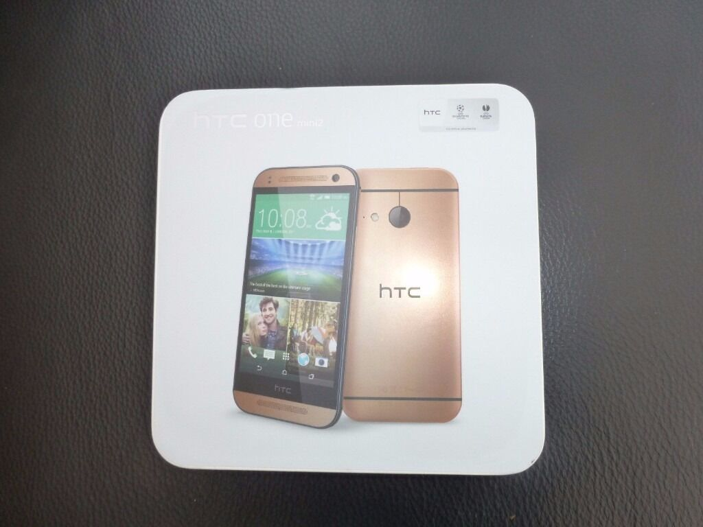 "HTC One mini 2in Magherafelt, County LondonderryGumtree - HTC One mini 2 amber gold has the same beautiful metal design as the sleek HTC One (M8), but comes in a more compact size, the stunning 4.5"" HD screen fitting perfectly in your hand. Selfies are brought to life in amazing quality with a 5MP front..."