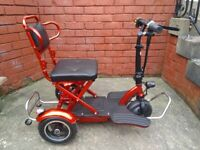 Vike three wheel mobility scooter