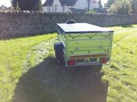 Trailer cars 6x4 double broadside £620 inc vat