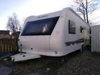 Hobby 645 VIP twin axle caravan