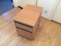 Wheeled Pedestal Storage Cabinet - free to a good home