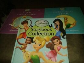 Disney Fairy books x 3