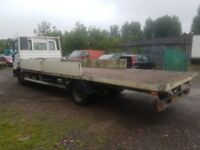 Ford iveco 7.5 dropside truck