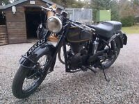 1953 Velocette Mac 350cc. As original condition....smart and nice runner.
