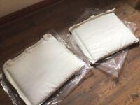 Hanging back cushions
