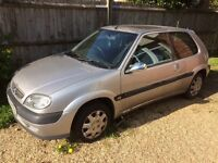 Selling silver Citroen saxo for £60